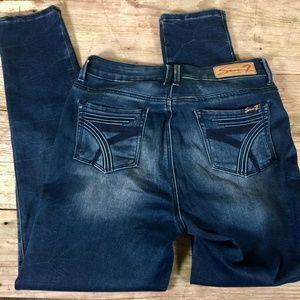 Seven7 High Rise Skinny stretch denim jeans 10
